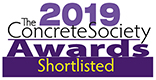 2019 Concrete Society Awards Shortlisted - Logo