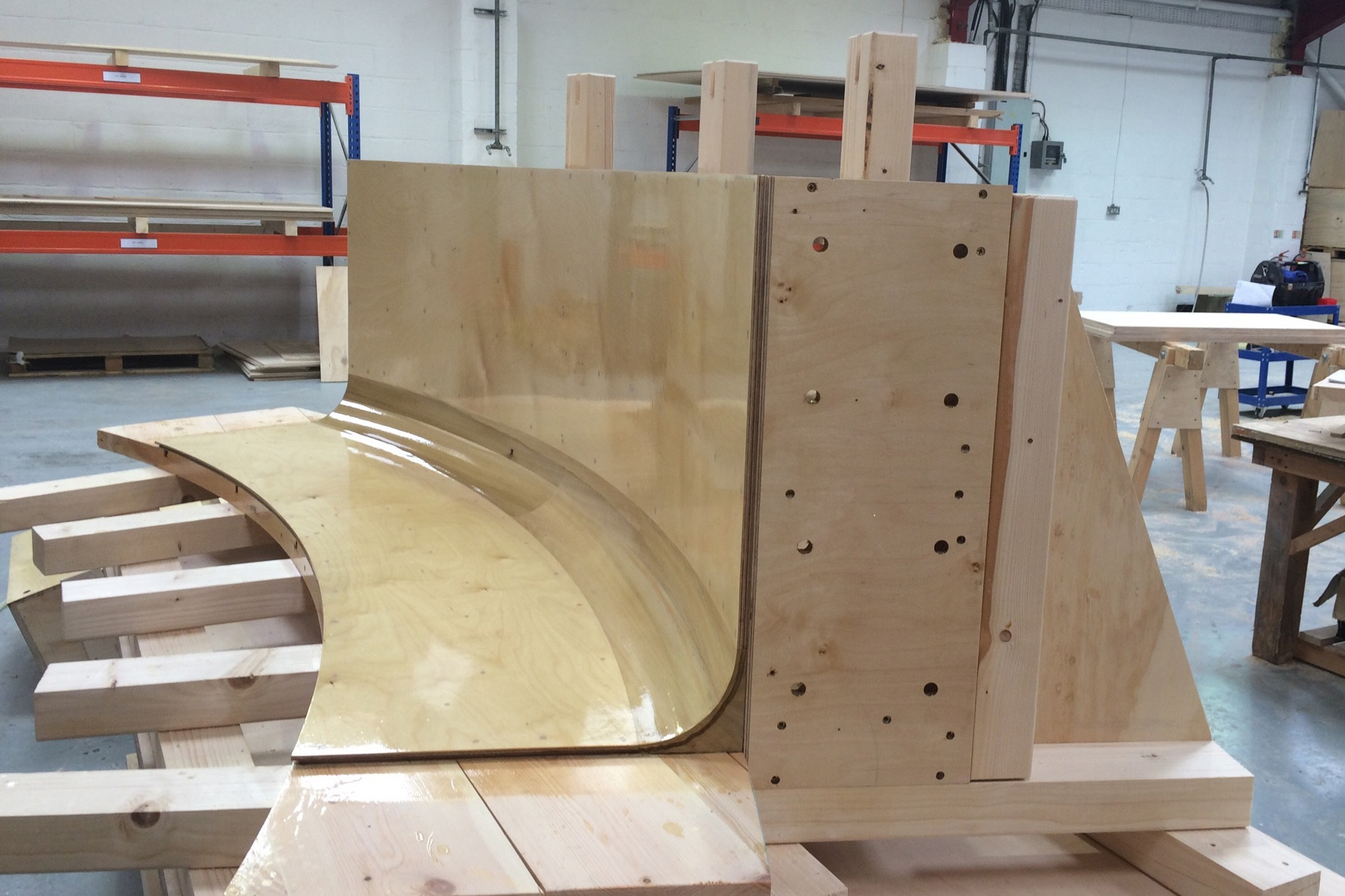 Timber mould